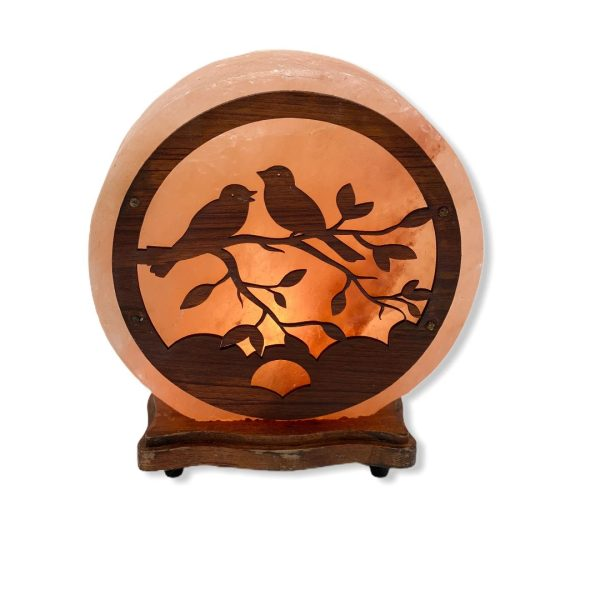 Birds Wood Craft Salt Lamp Saltpur - Saltpur Himalayan Salts