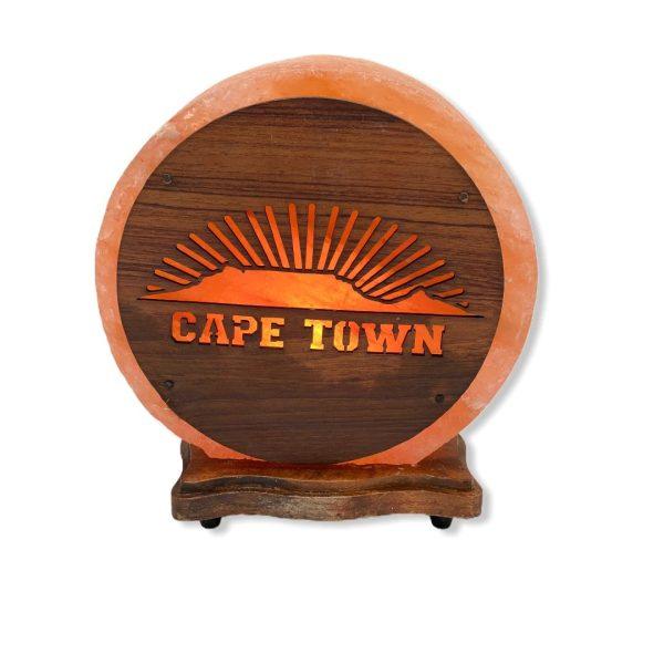 CapeTown Wood Craft Salt Lamp Saltpur - Saltpur Himalayan Salts