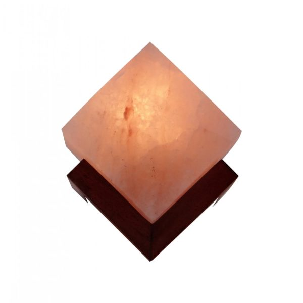 Digonal Cube Salt Lamp Saltpur - Saltpur Himalayan Salts