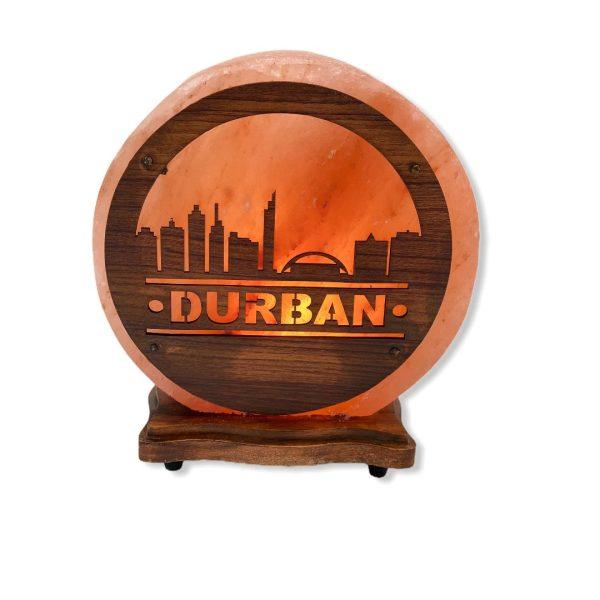 Durban Wood Craft Salt Lamp Saltpur - Saltpur Himalayan Salts