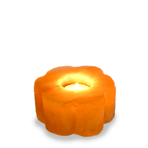 Flower Candle Holder Banner Saltpur - Saltpur Himalayan Salts
