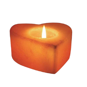 Heart Candle Holder Banner Saltpur - Saltpur Himalayan Salts
