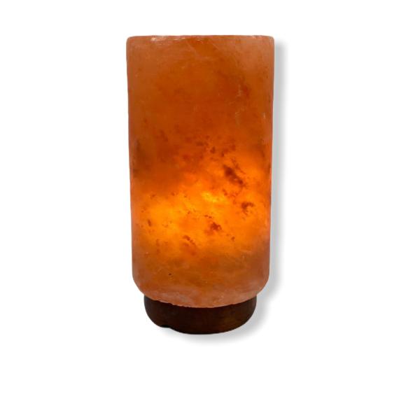 Himalayan Cylinder Pillar Salt Lamp - Saltpur Himalayan Salts