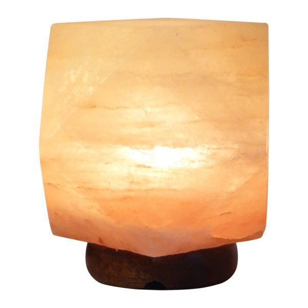 Himalayan Diamond Shape Salt Lamp - Saltpur Himalayan Salts
