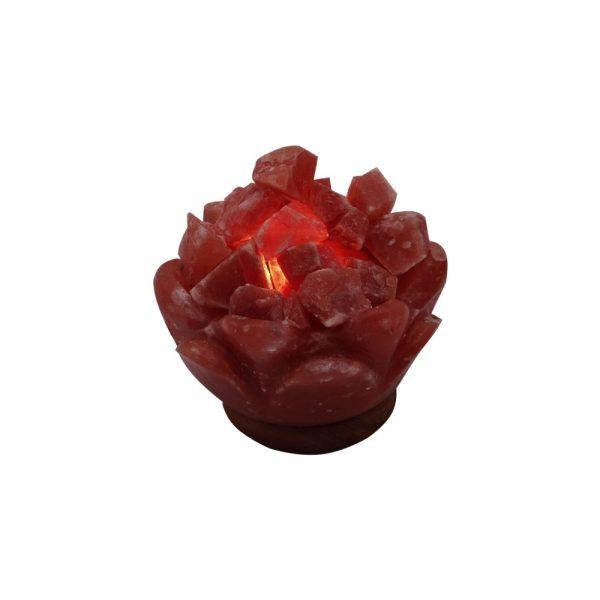 Himalayan Flower Fire Salt Lamp - Saltpur Himalayan Salts