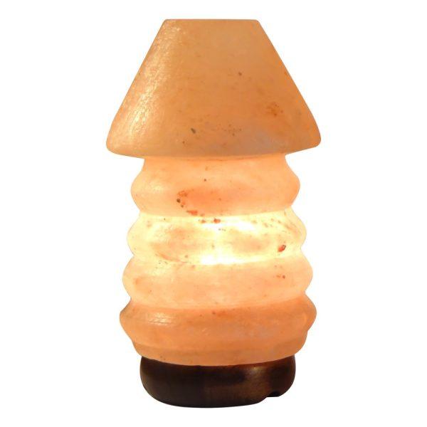Himalayan Old Table Salt Lamp - Saltpur Himalayan Salts