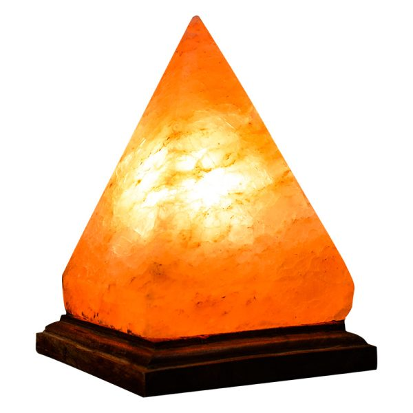 Himalayan Pyramid Salt Lamp Large 5 7 Kg - Himalayan Salts