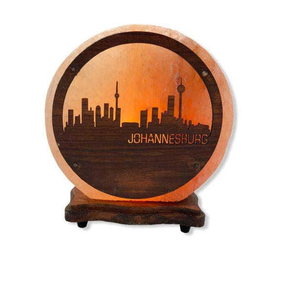 Johannesburg Wood Craft Salt Lamp Saltpur - Saltpur Himalayan Salts