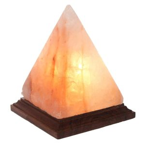 Pyramid Salt Lamp Saltpur - Himalayan Salts