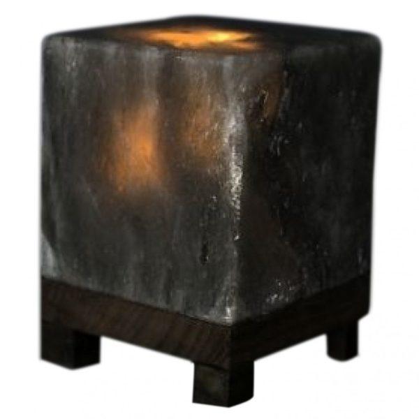 Saltpur Grey Cube Salt Lamp - Saltpur Himalayan Salts