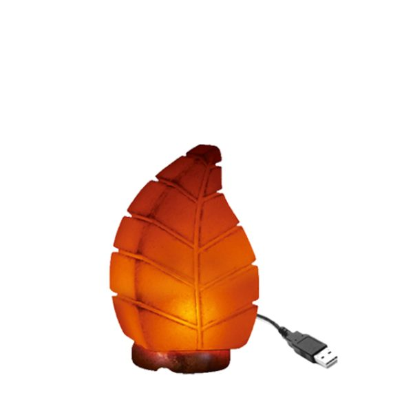 USB Leaf Salt Lamp Saltpur - Saltpur Himalayan Salts