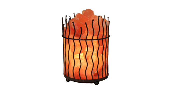 Wrought Iron Salt Lamp Banner Saltpur - Saltpur Himalayan Salts