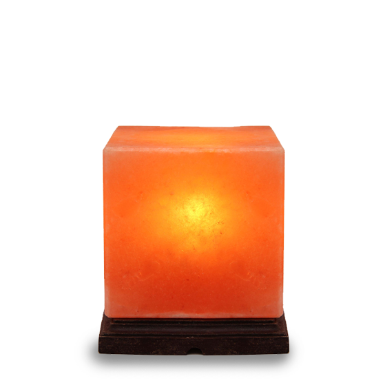 Himalayan Cube Salt Lamp Medium 3 5 Kg - Saltpur Himalayan Salts