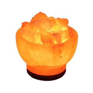 Himalayan Fire Bowl Salt Lamp Small 2 3 Kg - Himalayan Salts