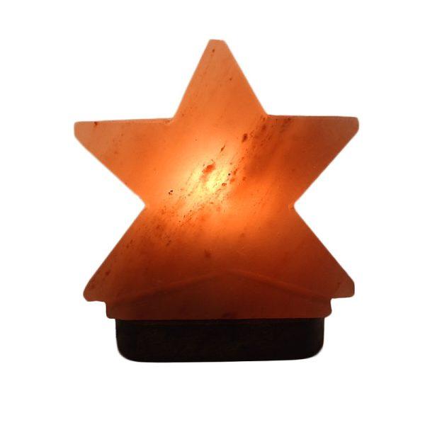Himalayan Star Salt Lamp - Saltpur Himalayan Salts