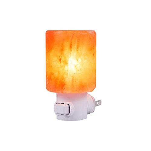 Night Light Cylinder Salt Lamp - Saltpur Himalayan Salts