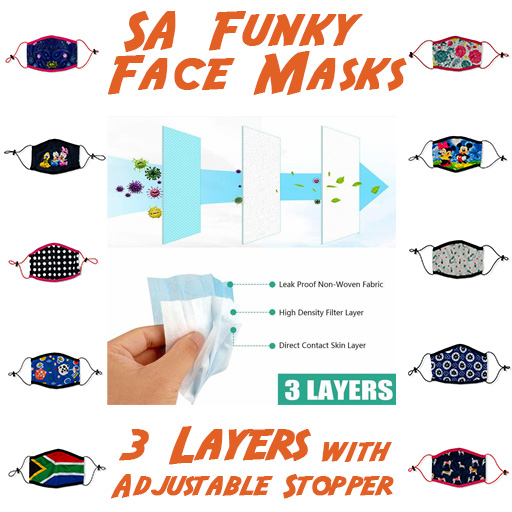 SA Funky Face Masks - Himalayan Salts