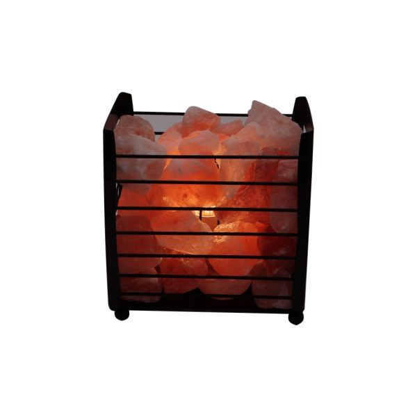 Wrought Iron CNC Salt Lamp - Saltpur Himalayan Salts