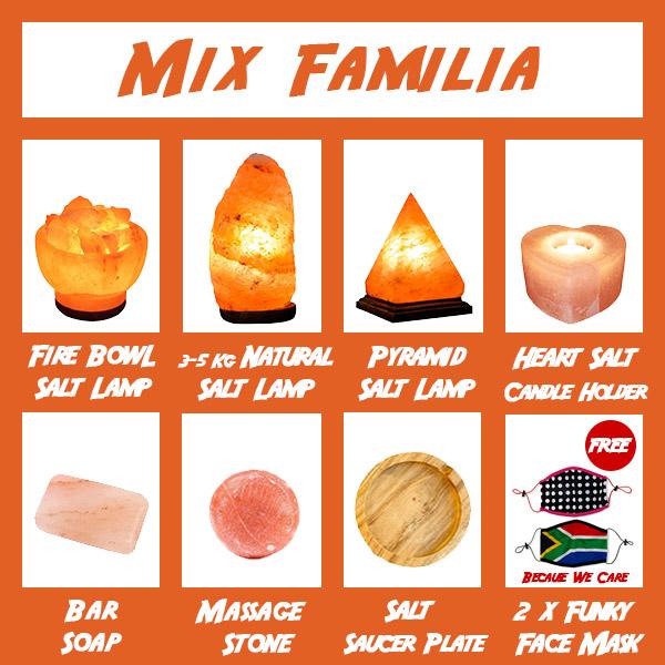 Jumbo Combo Mix Familia - Saltpur Himalayan Salts