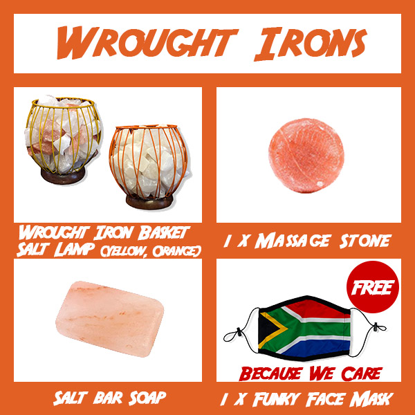 Jumbo Combo Wrought Irons - Himalayan Salts